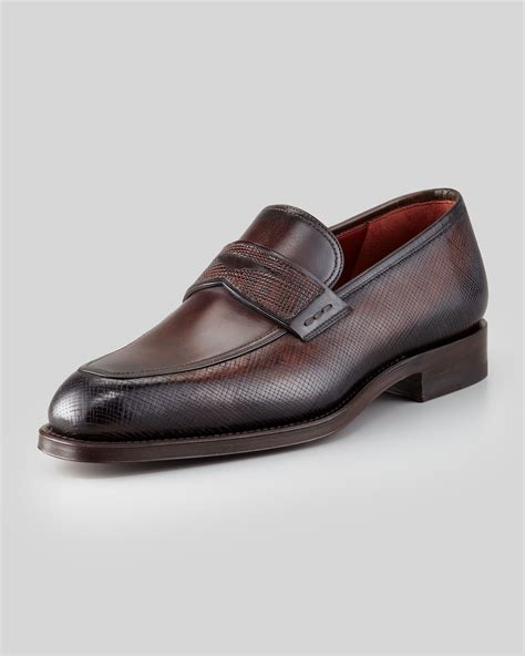 magnanni loafer magnanni wellington pennykeeper loafer brown in brown for