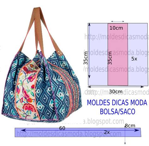 moldes bolsas tecido gratis molde de bolsa estampada