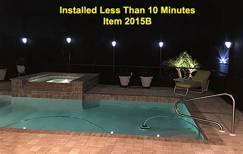 clip on solar lights clip on solar pool cages lights