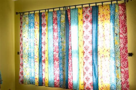 fabric strip curtains best 25 fabric strip curtains ideas on pinterest