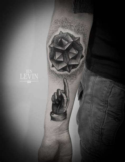 tattoo dotwork finger abstract pointing finger dotwork tattoo by ien levin