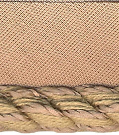 home decor trim home decor trim conso 1 4 sandstone lipcord jo ann