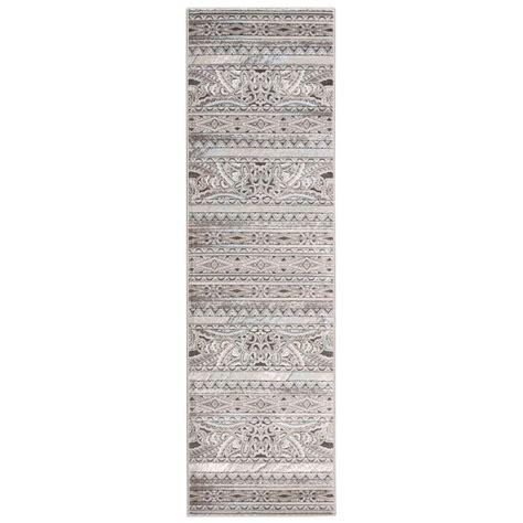 7 foot runner rug nourison karma 2 ft 2 in x 7 ft 6 in rug runner 269188 the home depot