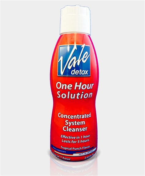 One Hour Solution Detox Available by Vale S One Hour Solution Orange