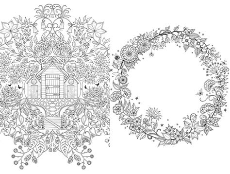 secret garden colouring book johanna basford free coloring pages of johanna basford