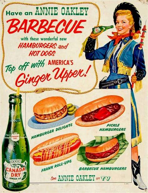 vintage tv commercials from the 1940s 50s 7 ads annie oakley 1950s tv show for canada dry food the