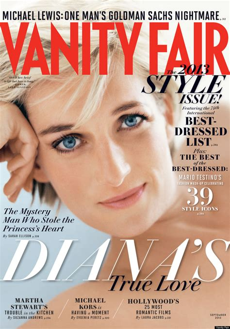Vanity Fair by Princess Diana Covers Vanity Fair September 2013 Issue Photo