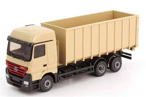Truck Mercedes Actros M Recycle Skala 1 87 Majorette Diecast mercedes actros abrollkipper mercedes atego abrollkipper best cars