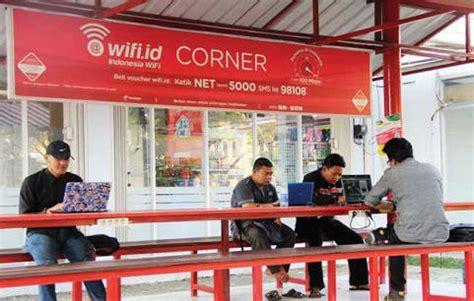 Wifi Id Corner kota balikpapan menuju smart city oleh bobby nurhuda