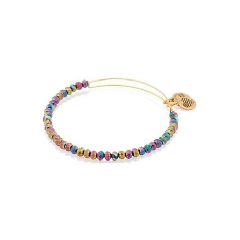 alex and ani northern lights silver alex and ani northern lights brilliance beaded bangle