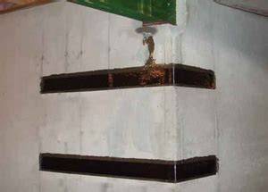 carbon fiber basement wall straps bowed cracked basement walls basement wall repair