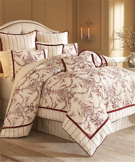 burgundy and cream bedroom cream burgundy royal garden bedding set