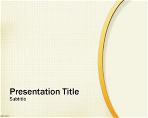 free gold powerpoint template