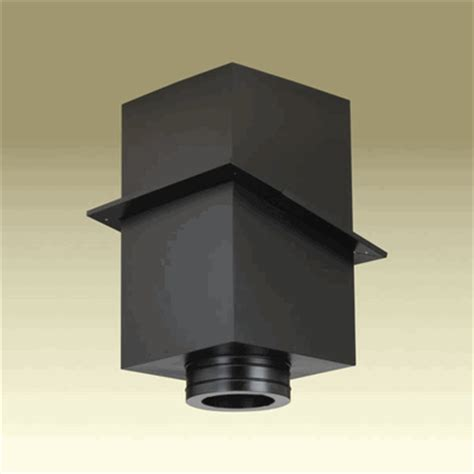 Duravent Ceiling Support Box by Dura Vent Duratech 6 Inch Square Ceiling Support Box For