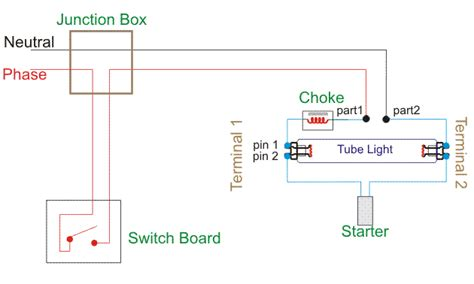 wiring diagram for a single light circuit