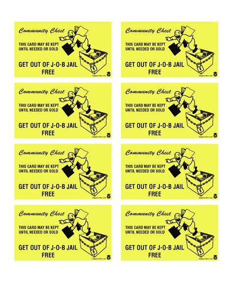 community chest cards template 15 best photos of print monopoly chance cards monopoly