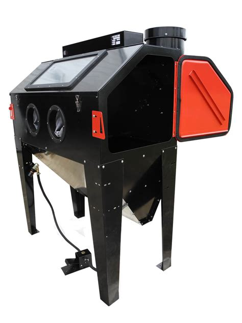 sand blast cabinets new redline re48 elite series abrasive sand blaster cabinet glass bead media