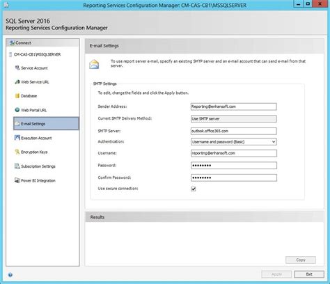 how to subscribe to configuration manager reports using