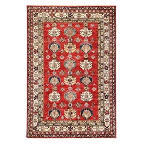 6 by 8 foot rugs darya rugs kazak 5 ft 6 in x 8 ft 4 in indoor area rug m1760 109 the home depot