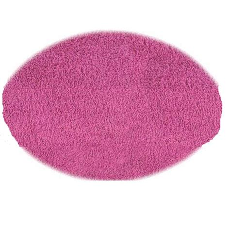 oval shag rug home decorators collection ultimate shag pink 5 ft x 7 ft oval area rug 7575490240 the
