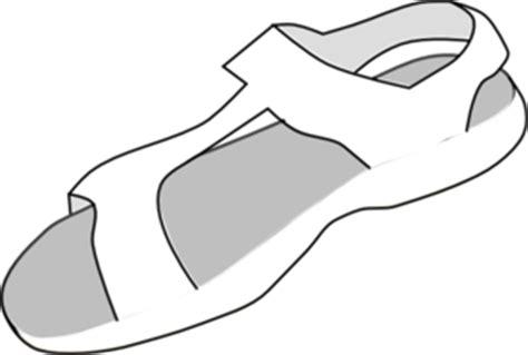sandal clip art  clkercom vector clip art