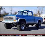 Jeep Comanche For Sale  Carsforsalecom