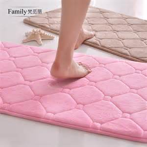pink memory foam bath mat 16 x24 rebound memory foam bath mat bathroom hello