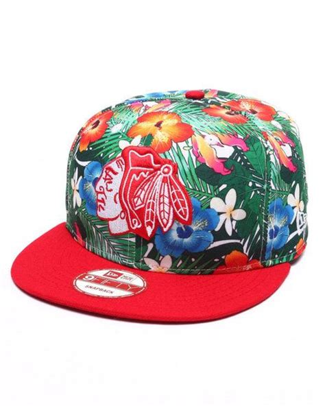 Exclusive Snapback Brim Pattern new era chicago blackhawks hawaiian edition snapback hat hats hats more hats snapback or