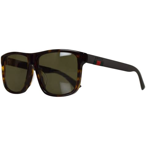 gucci shades for gucci sunglasses gucci brown square frame sunglasses from brother2brother uk