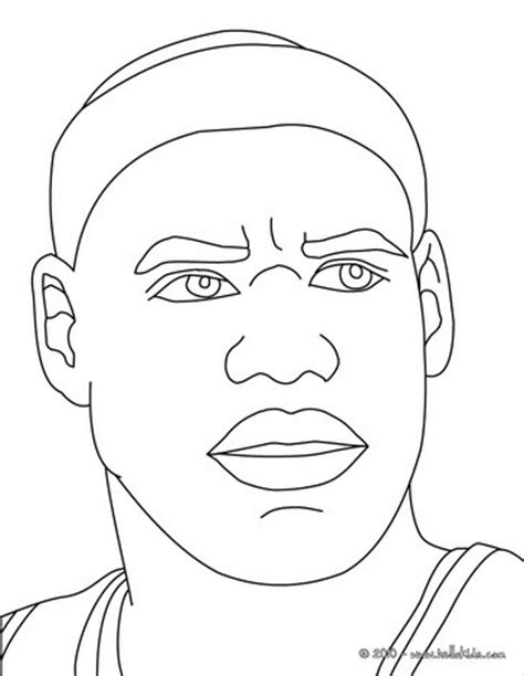 nba coloring pages lebron james lebron james coloring pages hellokids com