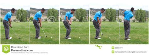 stages of a golf swing golf swing combo royalty free stock images image 20866479