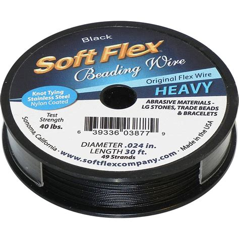 Soft Flex Stainless Steel Beading Wire 0 024 Quot 49 Strand