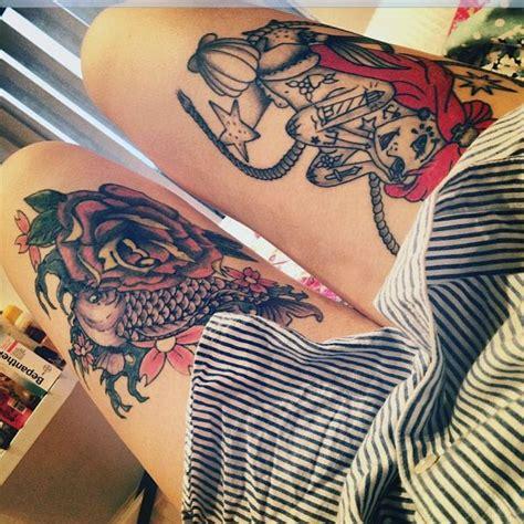 tattooed ariel i kinda want that permanent ink