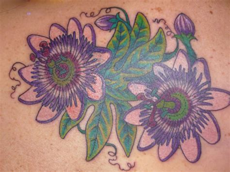 passionflowers tattoo