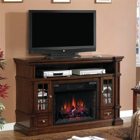 classic belmont tv stand electric fireplace