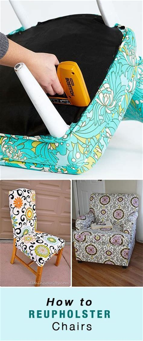 How To Reupholster Your by 17 Best Ideas About Recover Dining Chairs On
