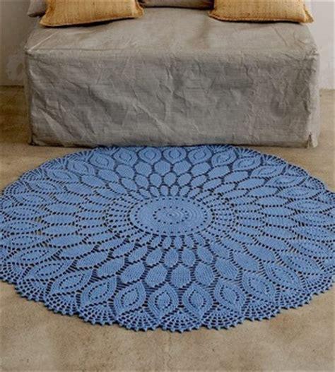 big crochet doily rug pattern ⋆ crochet kingdom