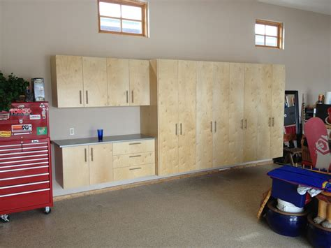 Garage Cabinets Mdf Or Plywood Garage Storage Solutions Of Calgary 403 616 7816