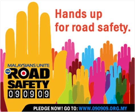 printable road safety banner wan h entry pledge for road safety anyone