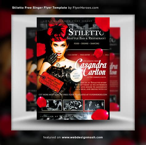 free club flyer templates 20 new free club flyer templates website design