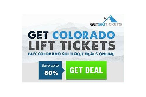 colorado ski pass deals