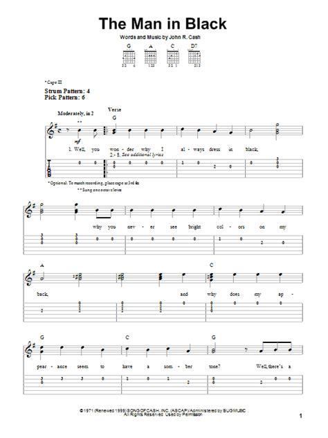 Johnny Cash Easy Guitar Chords