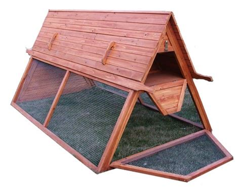 Handcrafted Coops - handcrafted portable chicken coop
