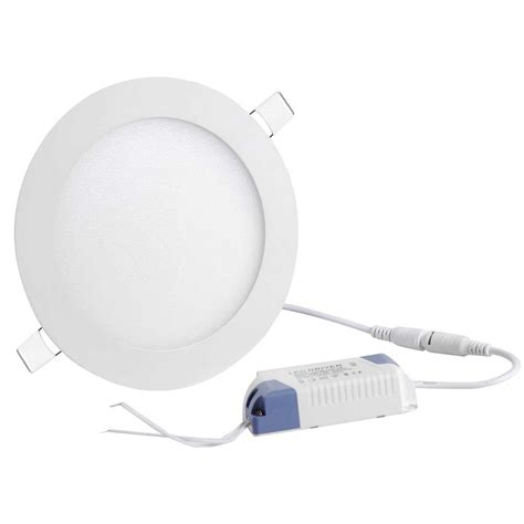 Led Recessed Ceiling Panel Lights 10 Pack 9w Recessed Led Panel Light Ceiling Lights Bulbs Cool White Ebay