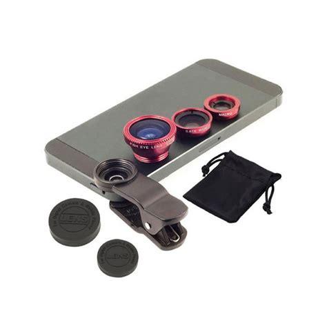 Set Alda 3in1 3in1 set lenti kit universale fisheye grandangolo macro
