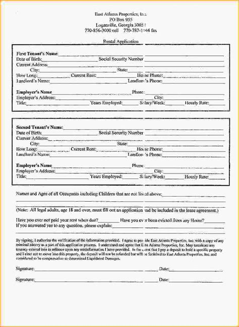 printable lease agreement wisconsin printable lease form rental application for wisconsin