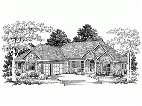 french country ranch house plans french country ranch new home ideas pinterest