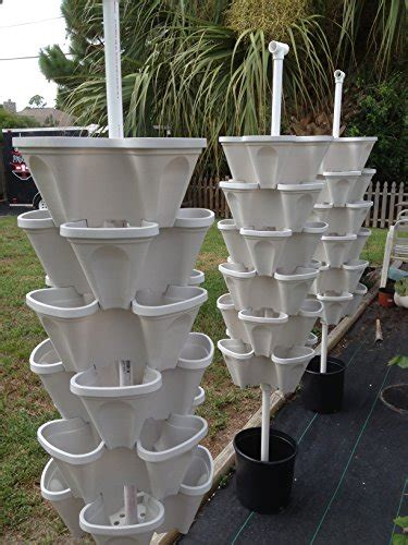 stacky  tiered vertical gardening planter indoor