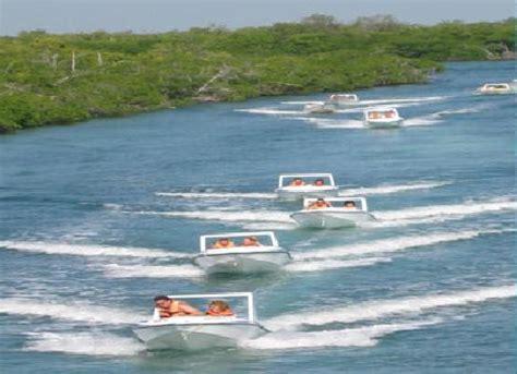 mini boats cancun cancun all tours jungle tour in speed boat