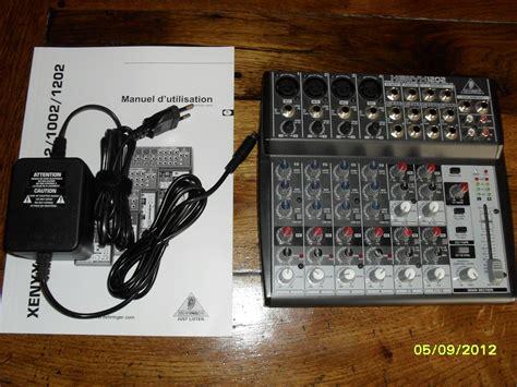 Mixer Behringer Xenyx 1202 behringer xenyx 1202 image 448506 audiofanzine